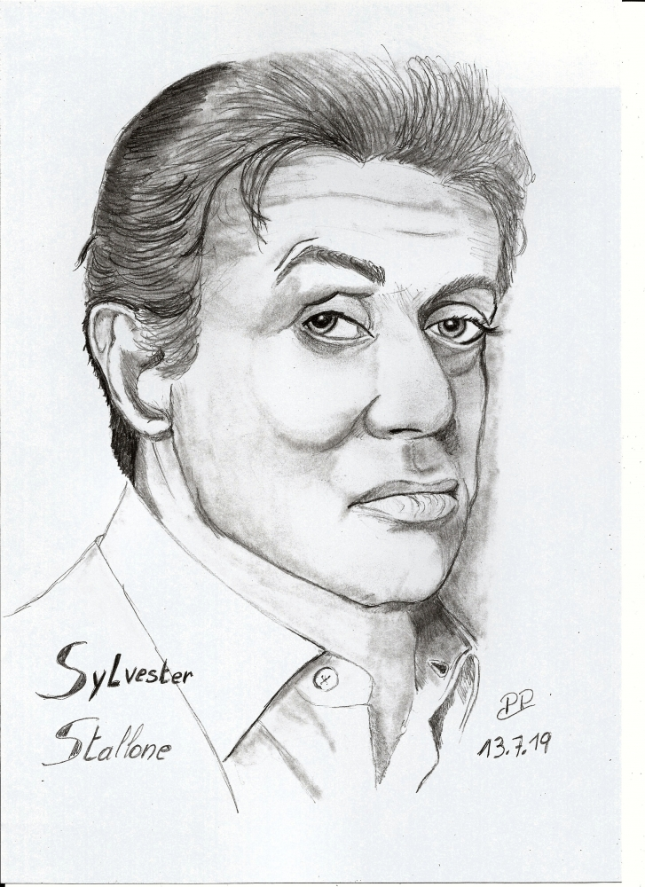 Sylvester Stallone by Patoux